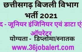 CG-Bijli-Vibhag-Vacancy-2021